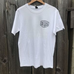 DEUS T-Shirt DMW 41808C Wht P2